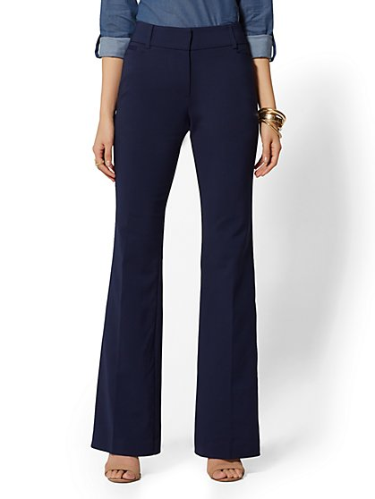 7th Avenue Pant - Bootcut - Modern - Solid - New York & Company