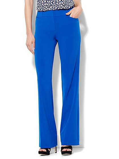 7th Avenue Pant - Bootcut - Signature - Double Stretch - Petite - New York & Company