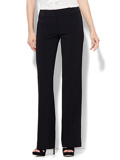 7th Avenue Pant - Bootcut - Signature - Double Stretch - Tall  - New York & Company