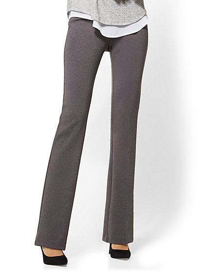 7th Avenue Pant - Bootcut - Signature - Grey - Tall - New York & Company