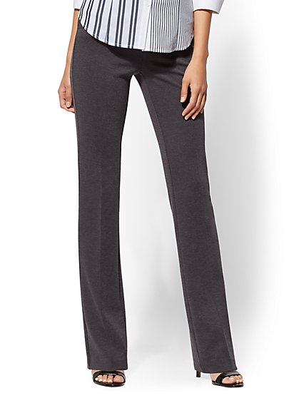 7th Avenue Pant – Bootcut – Signature – Pull-On – Ponte - New York & Company