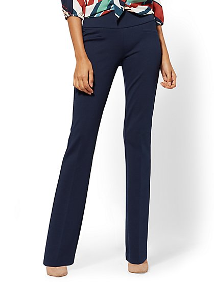 7th Avenue Pant - Bootcut - Signature - Pull-On - Ponte - New York & Company