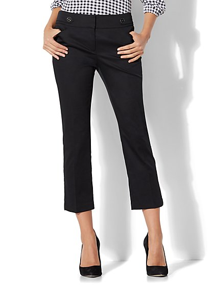 7th Avenue Pant - Crop Straight Leg - Modern - New York & Company