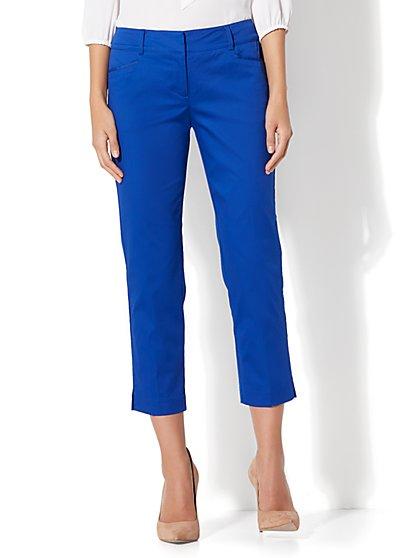 7th Avenue Pant - Crop Straight Leg - Signature - Tall - New York & Company