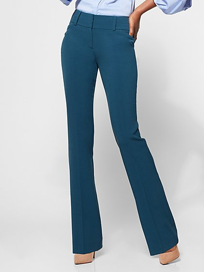 7th Avenue Pant - Modern - Barely Bootcut - Double Stretch - New York & Company