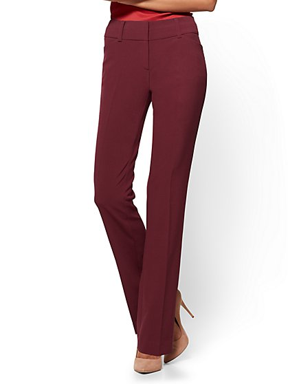 7th Avenue Pant - Modern - Barely Bootcut - Tall - New York & Company