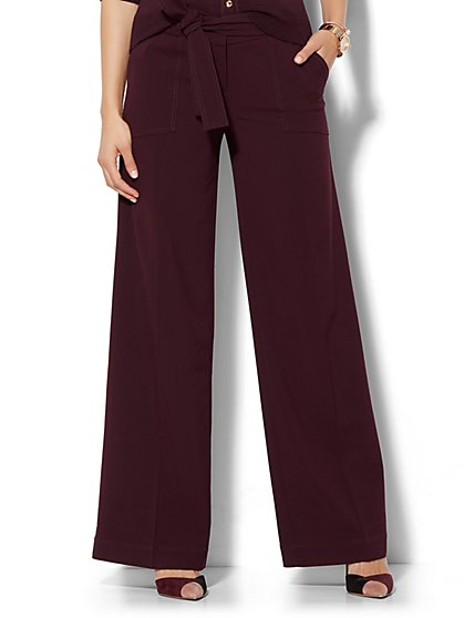 7th Avenue Pant - Palazzo - Modern - Double Stretch  - New York & Company