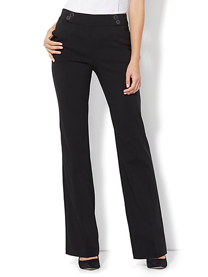 7th Avenue Pant - Pull On Bootcut - Modern - Ultra Stretch - Tall - New York & Company
