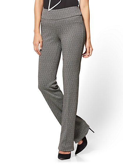 7th Avenue Pant - Pull-On Bootcut - Signature - Ponte - Tall - New York & Company
