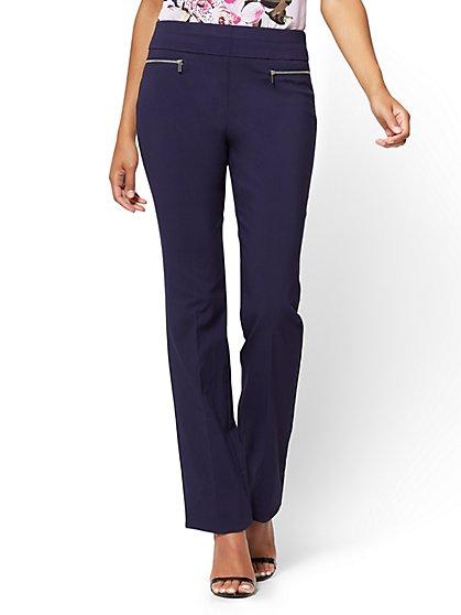 7th Avenue Pant - Pull-On Straight Leg - Modern - Tall - New York & Company