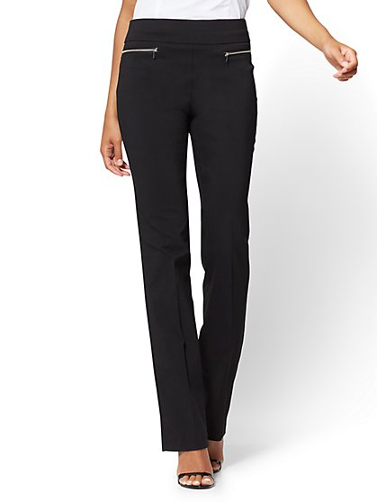 7th Avenue Pant - Pull-On Straight Leg - Modern - New York & Company
