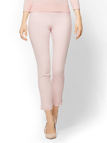 7th Avenue Pant - Slim Ankle - Modern - Pink - New York & Company