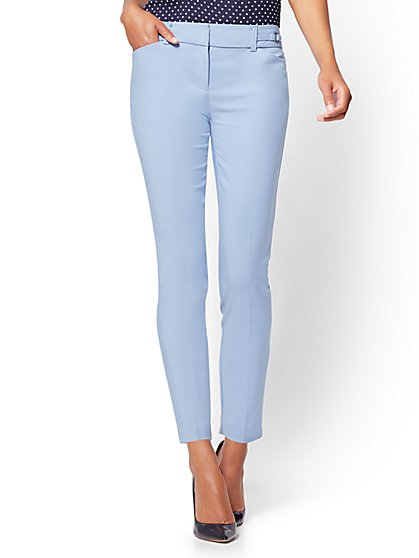 7th Avenue Pant - Slim-Leg Ankle - All-Season Stretch  - New York & Company
