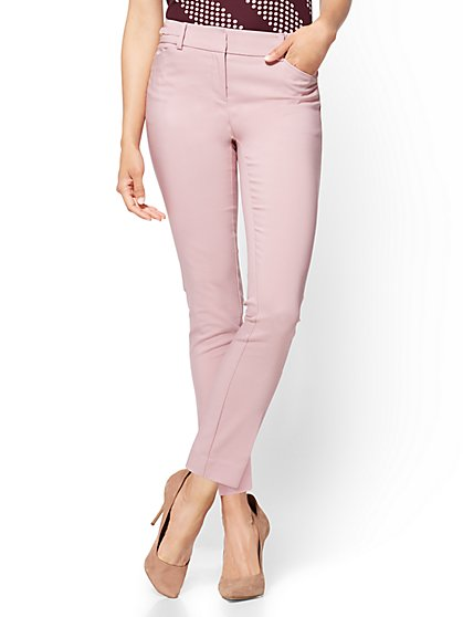 7th Avenue Pant - Slim-Leg Ankle - All-Season Stretch - New York & Company
