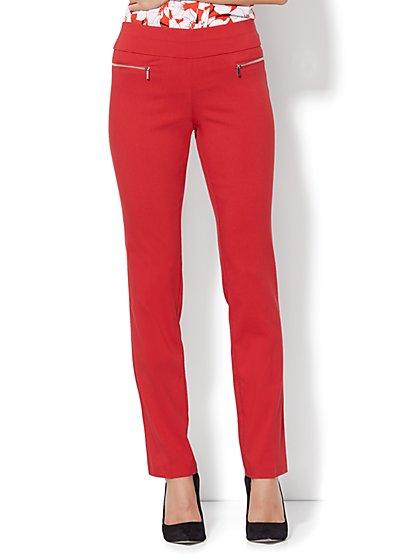 7th Avenue Pant - Slim-Leg - Modern - Pull-On - Ultra Stretch - New York & Company