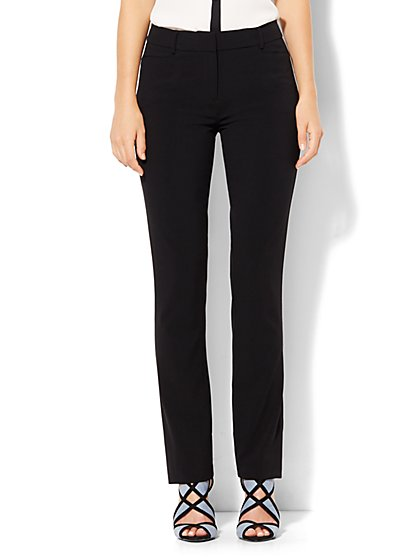 7th Avenue Pant - Slim-Leg - Signature - Double Stretch - Tall  - New York & Company