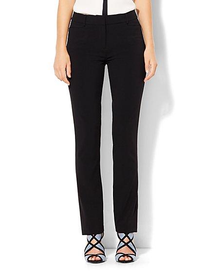 7th Avenue Pant - Slim-Leg - Signature - Double Stretch - New York & Company