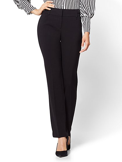 7th Avenue Pant - Straight Leg - Modern - Double Stretch - Tall - New York & Company