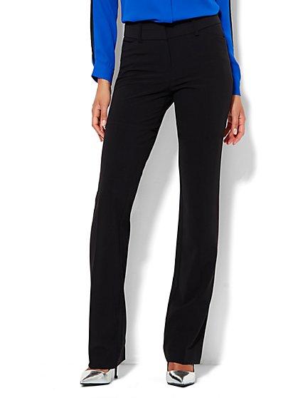 7th Avenue Pant - Straight Leg - Modern - Double Stretch - New York & Company