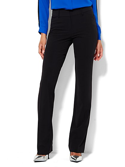 7th Avenue Pant - Straight Leg  - Modern - Leaner - Double Stretch - Tall - New York & Company