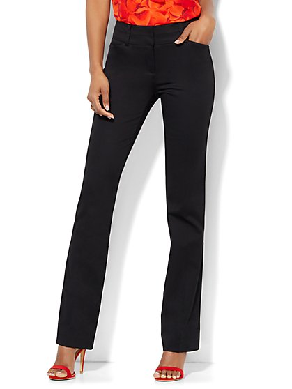 7th Avenue Pant - Straight Leg - Modern  - Tall  - New York & Company