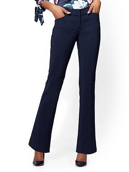 7th Avenue Pant - Straight Leg - Signature - All-Season Stretch - Tall - New York & Company