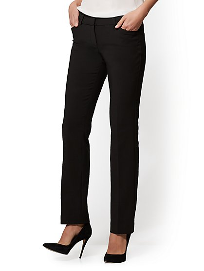 7th Avenue Pant - Straight Leg - Signature - All-Season Stretch - New York & Company