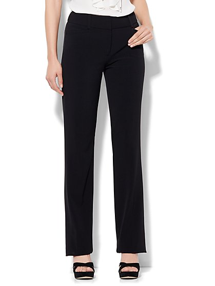 7th Avenue Pant - Straight Leg - Signature - Double Stretch - Tall - New York & Company