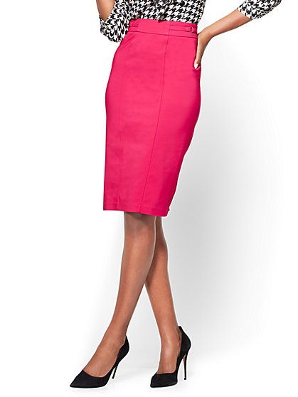7th Avenue - Pencil Skirt - Modern - All-Season Stretch - New York & Company