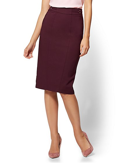 7th Avenue - Pencil Skirt - Modern - All-Season Stretch - New York & Company