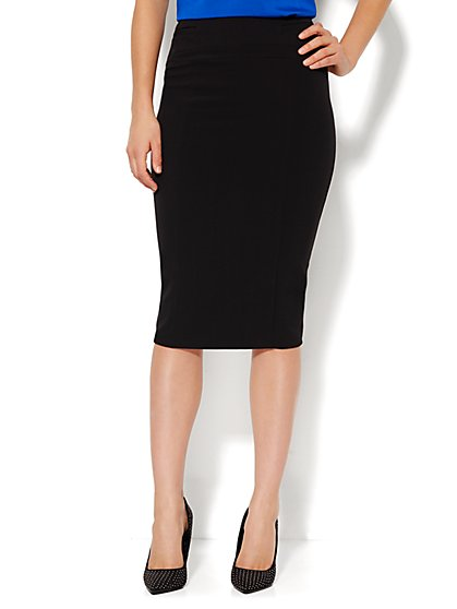7th Avenue - Pencil Skirt - Signature - Double Stretch - New York & Company