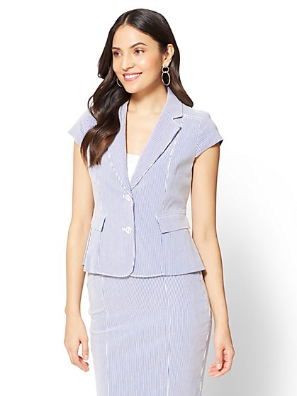 7th Avenue Peplum Jacket - New York & Company