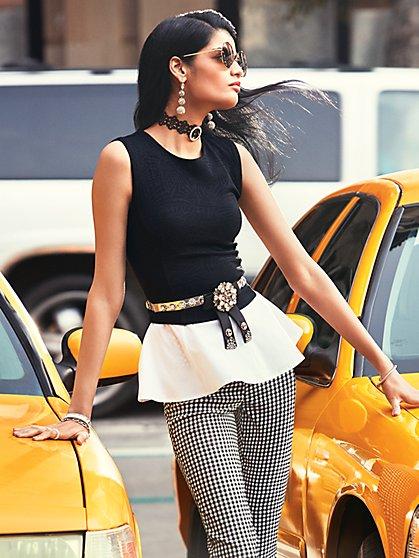 7th Avenue Peplum Top - New York & Company