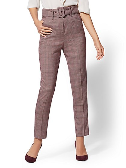 7th Avenue - Petite High-Waist Ankle Pant - New York & Company