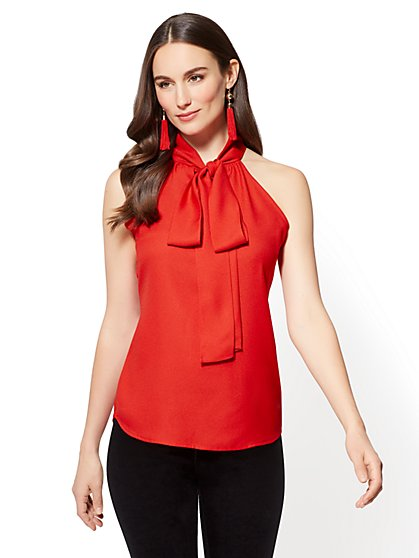 Find the latest and trendy styles of women's red blouse - red ruffle, shirts, floral blouse at ZAFUL. We are pleased you with the latest fashion trends red blouses.