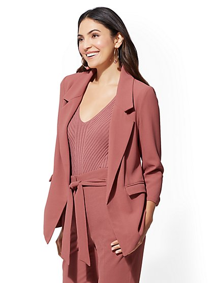 7th Avenue - Soft Pink Blazer - New York & Company