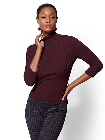 7th Avenue - Turtleneck Sweater - New York & Company