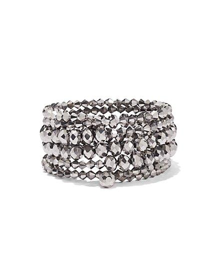 Beaded Coil Bracelet - New York & Company