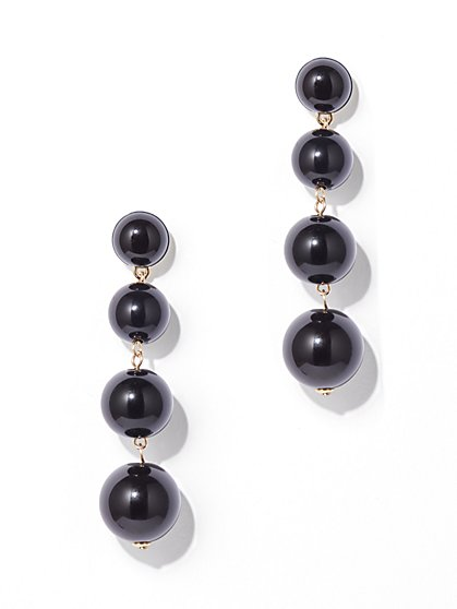 Beaded Drop Earring - New York & Company