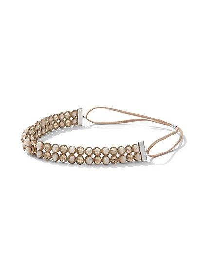 Beaded Headband - New York & Company