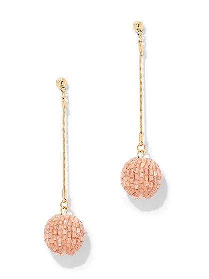 Beaded Spherical Drop Earring - New York & Company