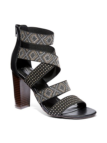 Beaded Strappy Sandal  - New York & Company