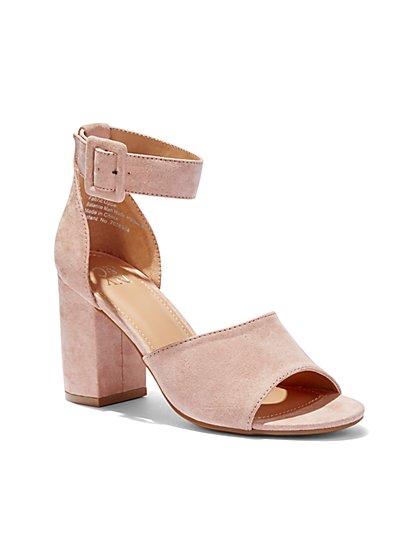 Block-Heel Sandal - New York & Company