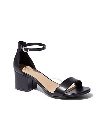 Block-Heel Sandal  - New York & Company