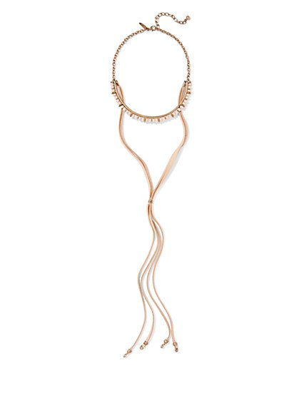 Bolo Choker Necklace  - New York & Company