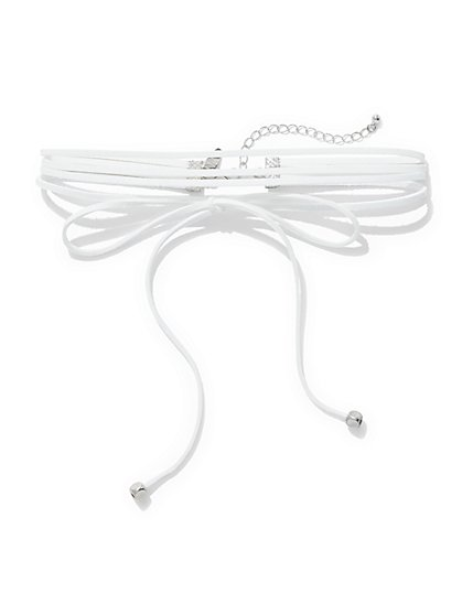 Bowtie Choker Necklace  - New York & Company