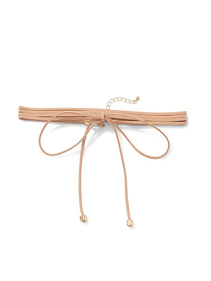 Bowtie Choker Necklace  - New York & Company