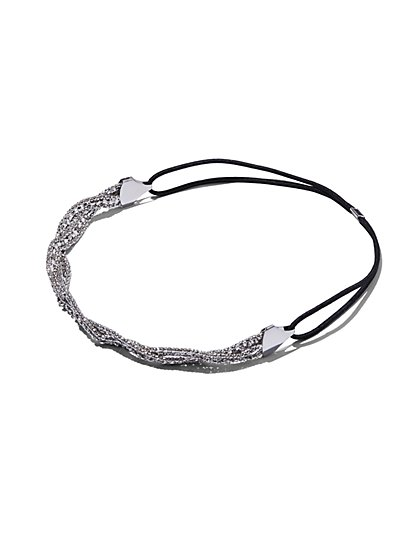 Braided Chain Headband  - New York & Company
