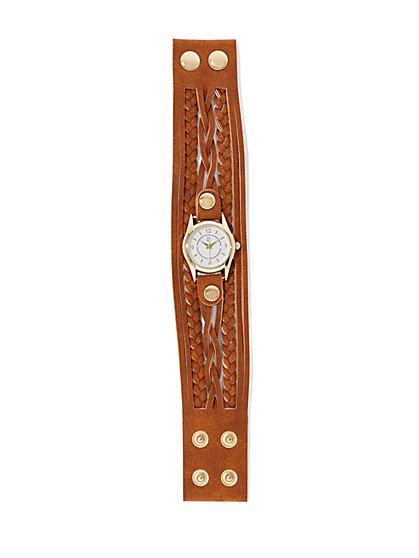 Braided Cuff Watch  - New York & Company