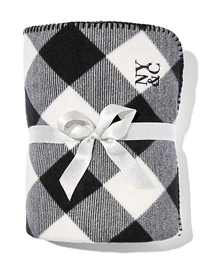Buffalo Check Blanket  - New York & Company